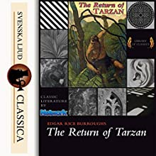 The Return of Tarzan (The Tarzan Series 2) Audiobook by Edgar Rice Burroughs Narrated by Ralph Snelson