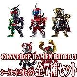 食玩 CONVERGE KAMEN RIDER 3 【全7種フルセット (フルコンプ)】 仮面ライダー コンバージ