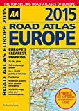 img - for 2015 Road Atlas Europe: Europe's Clearest Mapping (Aa Road Atlas Europe) book / textbook / text book