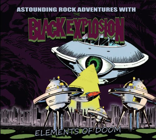 Album Art for Elements of Doom by The Black Explosion