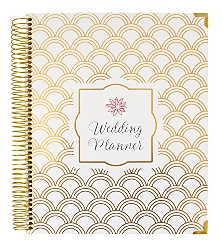 Bloom daily planners Undated Wedding Planner - Hard Cover Wedding Planner & Organizer - 9