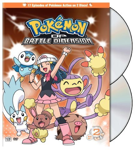 Pokemon: Diamond & Pearl Battle Dimension Box 2 [DVD] [2009] [Region 1] [US Import] [NTSC]