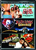 Dying of Laughter Triple Feature (Club Dread / Killer Klowns From Outer Space / Killer Tomatoes Strike Back)