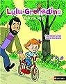 Lulu-Grenadine fait du vélo