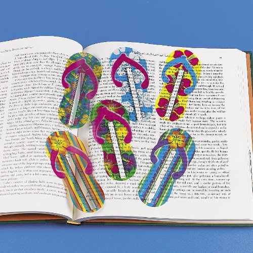 Flip Flop Ruler Bookmarks (4 dz)