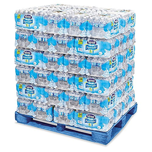 Nestle - Pure Life Purified Bottled Water, 1/2 Liter (16.9 Oz) - 72 Case Pallet (Pure Life Purified Water 72 Cases compare prices)