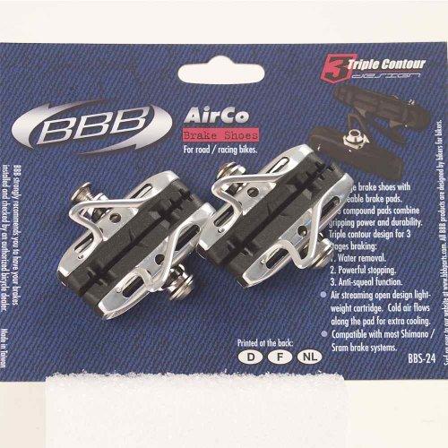 BBB AirCo Road Bike Cartridge Brake Pads - Silver - 55037017 /BBS-24