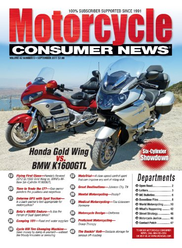 Motorcycle Consumer News (1-year auto-renewal)