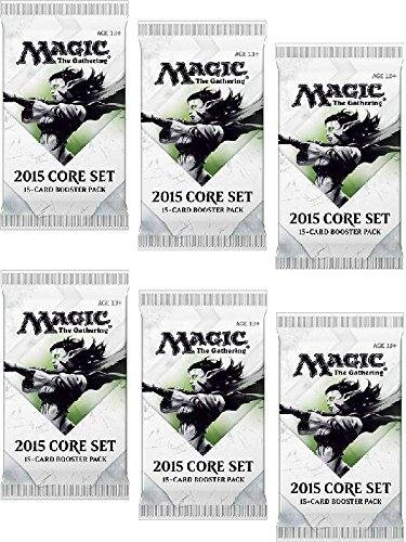 6 (Six) Packs Of Magic: The Gathering - Mtg: 2015 Core Set / M15 Booster Pack Lot front-487957