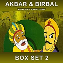 Akbar and Birbal Box Set, Volume 2 Audiobook by Rahul Garg Narrated by Claire Heffron