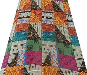 passatoie cucina disegno geometrici : Disegno Geometrico Tessuto voile di cotone multicolore Cucire Cortina ...