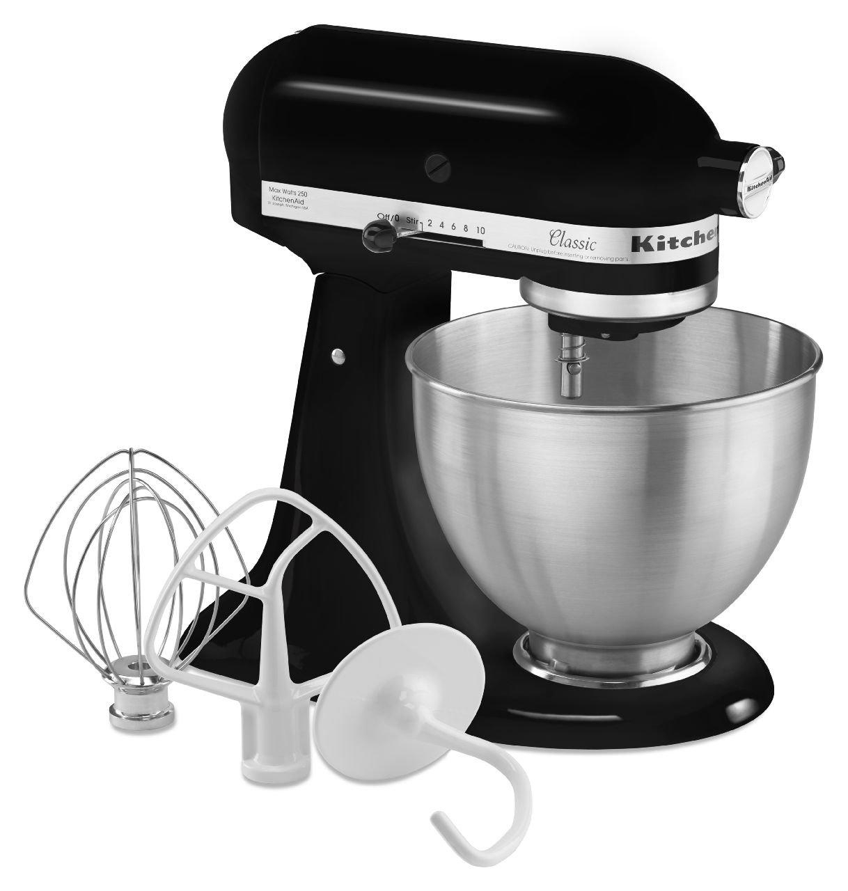 galleon kitchenaid k45ssob 4 5 quart classic series stand mixer