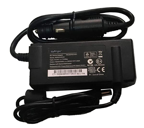 UpBright Car DC Adapter Replacement for Respironics EverGo SDR-120W SDR-120W019 MW116KA1800Q06 REF 900 O2 Ever Go Vanson Lifechoice ActivOx Pro 4L Portable Oxygen Concentrator XYC100B-P4L Inovo Labs