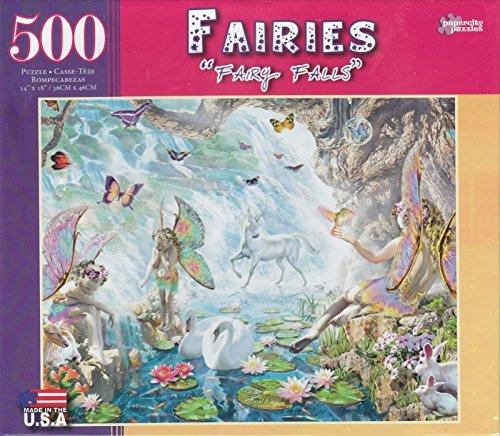 Fairy Falls 500 Piece Puzzle - 1