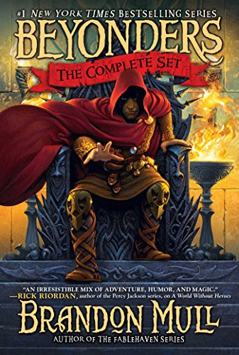 Download Brandon Mull's Beyonders Trilogy: A World Without Heroes; Seeds of Rebellion; Chasing the Prophecy