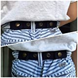 Sister-Selected-Adjustable-Snap-Belt-for-BabyToddler-Boy-Girl-Pants-Navy