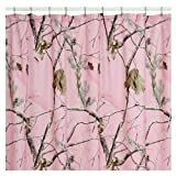 Realtree AP Pink Shower Curtain, 72 Inch X 72 Inch