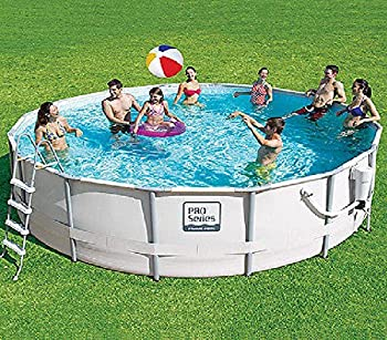 ProSeries 14-ft Metal Frame Swimming Pool