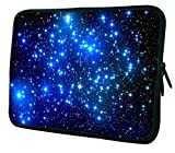 Waterfly Fashion Endless Universe Twinkling Blue Stars Double Sided Print 15