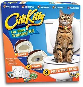 Amazon Com Citikitty Cat Toilet Training Kit Litter