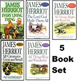 img - for James Herriot's 5 Book Set: All Creatures Great and Small / All Things Bright and Beautiful / All Th book / textbook / text book