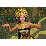 Jumbo Puzzle - Gold Collection - Bali Dancer (1000 pieces)by Jumbo