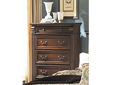 Homelegance Silas 6 Drawers Chest in Rich Cherry