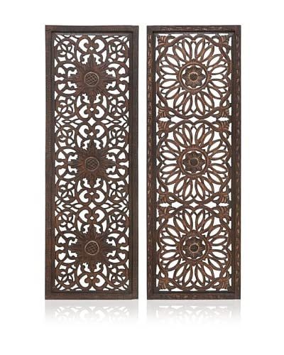Set of 2 Assorted Wall Panels, Multi