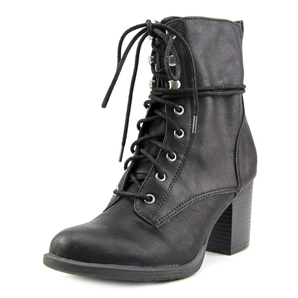 Womens Closed Toe Combat Boots