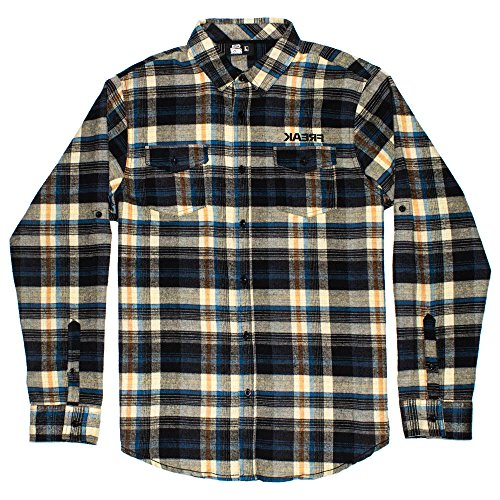 SpeedFreak Men's Yellow Flannel Shirt Yellow 2XL