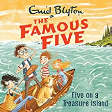 Five on a Treasure Island: Book 1 Audiobook by Enid Blyton Narrated by Mel Giedroyc