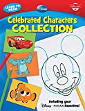 Learn to Draw Disney Celebrated Characters Collection: Including your Disney/Pixar Favorites!