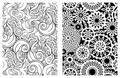 Michael Omara Coloring Books Posh Adult Book Pretty Designs For Fun