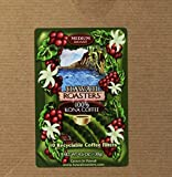 Hawaii Roasters 100% Kona Coffee, Single Serve For Keurig K-Cup Brewers, Medium Roast, 10-Pack net weight 4.6oz