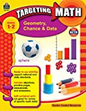 img - for Targeting Math: Geometry, Chance & Data, Grades 1-2 book / textbook / text book