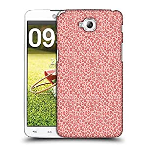 Snoogg Abstract Pink Pattern Design Designer Protective Phone Back Case Cover For LG G Pro Lite