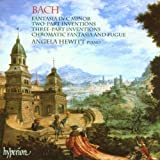 Bach : Fantasia Inventions, Chromatic Fantasia and Fugue