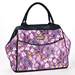 Signature Collection Sydney Ladies' Insulated Satchel/Doctor's Bag - Orchid Spring Bouquet