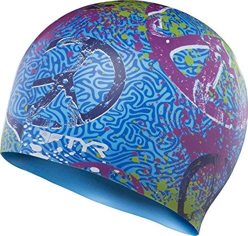 Tyr - Cuffia In Silicone Per Il Nuoto - Modello Love & Happiness