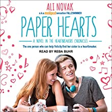 Paper Hearts: Heartbreak Chronicles, Book 2 Audiobook by Ali Novak Narrated by Reba Buhr