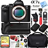 Sony a7 II 24.3MP Full-frame Mirrorless Interchangeable Lens Camera Body + 64GB Battery Grip and Memory Super Trade-In Bundle