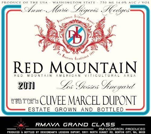 2011 Descendants Liegeois Dupont Red Mountain Syrah 750Ml