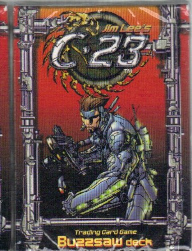 C-23 BUZZSAW DECK JIM LEE COLLECTOR CARDS ANIME - 1