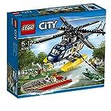 レゴ シティ ヘリコプターのドロボウ追跡 60067