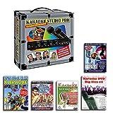 KARAOKE ANLAGE + 2 MIKROFONE + 5 PARTY DVD SET - KARAOKE STUDIO PRO