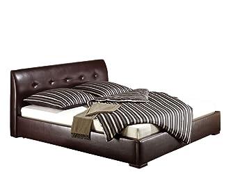 Maintal Betten 231479-4828 Polsterbett Zari 180 x 200 cm, braun