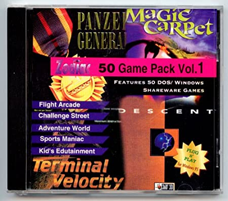 Zodiac 50 Game Pack Vol. 1