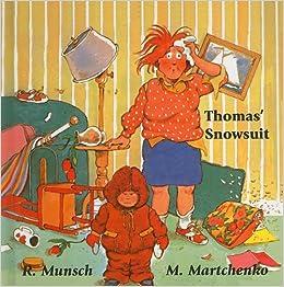 Thomas 39 snowsuit munsch for kids robert n munsch for Thomas snowsuit coloring page