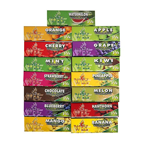 Rolling-Papers-Variety-15-Packs-of-Natural-Flavored-Color-tobaccos-Cigarette-Scales-1--Size
