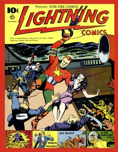 Lightning Comics v1 #4 [Magazines, Ace] (Tapa Blanda)